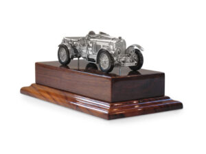 Bentley Blower silver replica