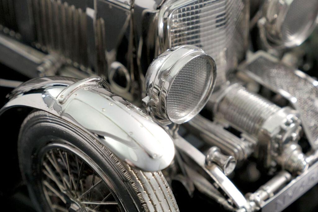 bentley blower silver model