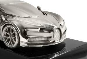 Bugatti Chiron Silver model