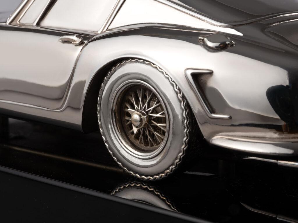 Ferrari silver replica