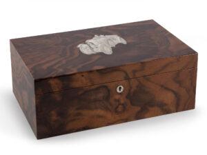 mens personalized watch box